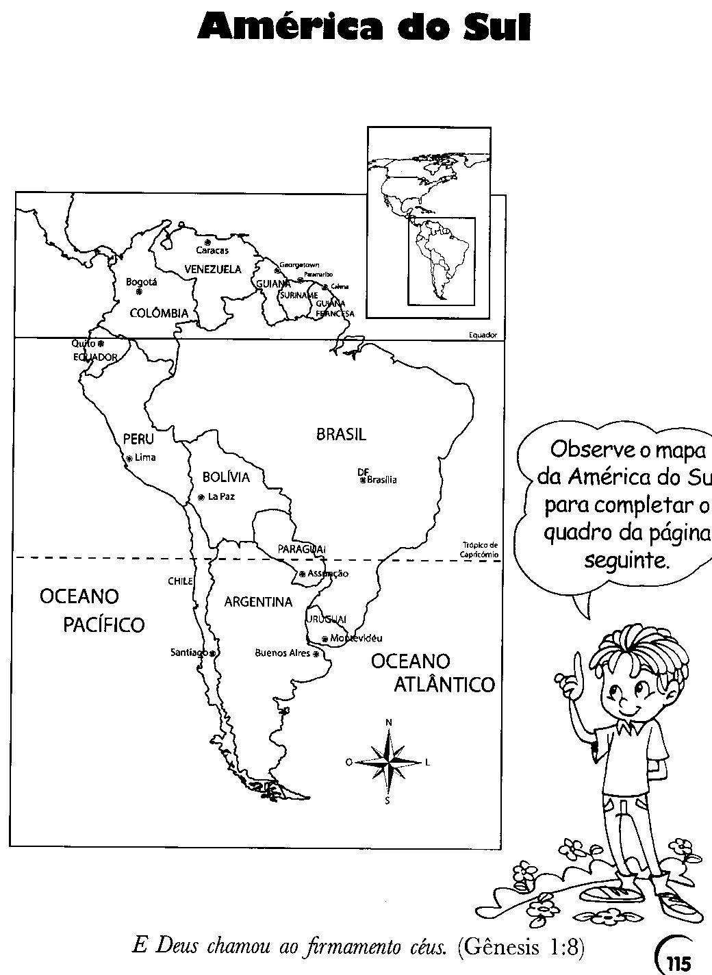Geografia 5 Ano Conteudo de Geografia Para 5º Ano