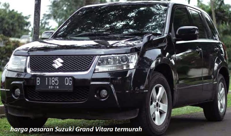 Harga Suzuki Grand Vitara  Bekas