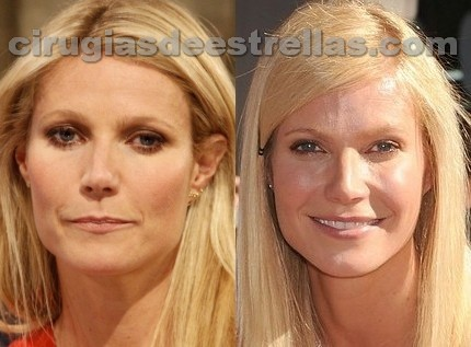 Gwyneth Paltrow antes y después
