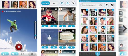 Mira todos los videos de Facebook con LiveLens en tu Smartphone