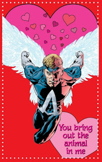 Animal Man Valentine's Day card from Young Romance #1