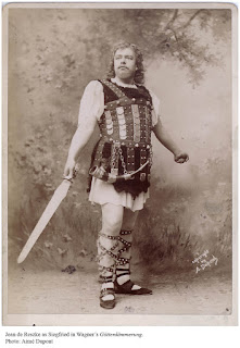 Jean de Reske as Wagner's Siegfried