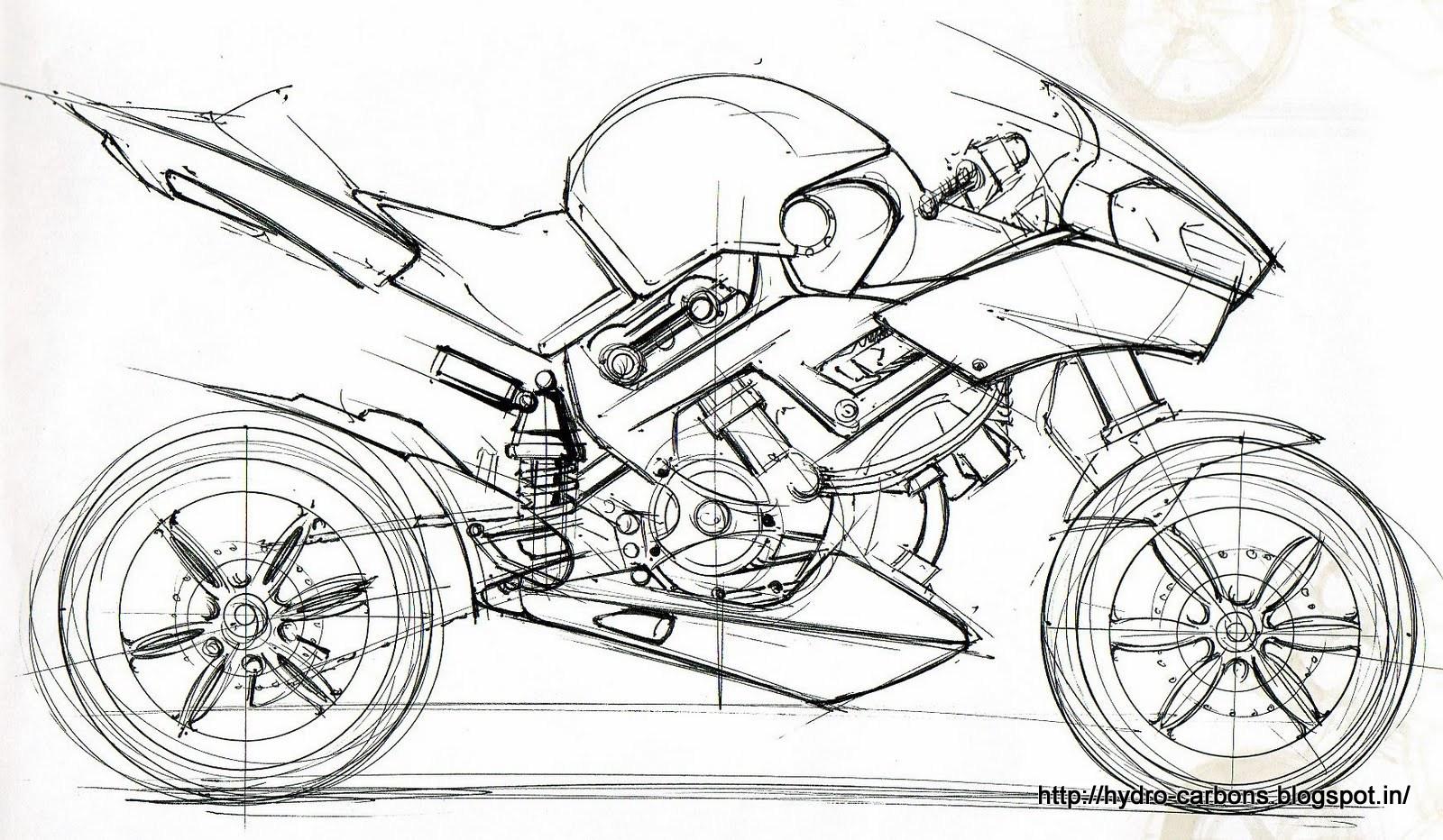honda motorcycle coloring pages - photo#35