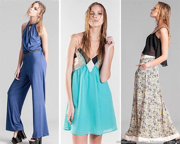Moda primavera verano 2015. La Cofradía primavera verano 2015 faldas, monos y vestidos.