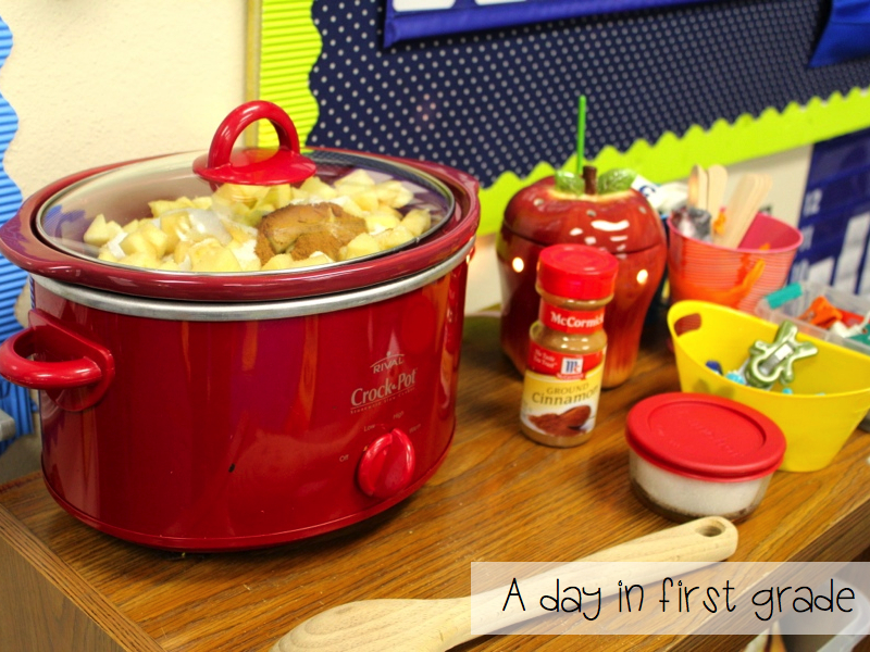 Making Applesauce Worksheets : A day in first grade how to make applesauce your