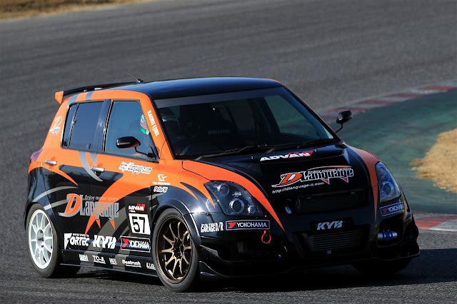 japońskie samochody, auta do wyścigów, Swift