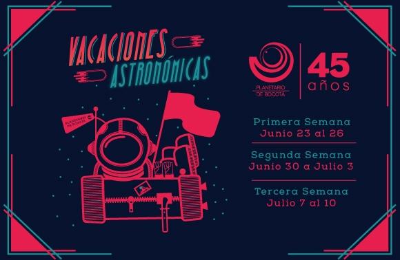 VACACIONES ASTRONÓMICAS 2015