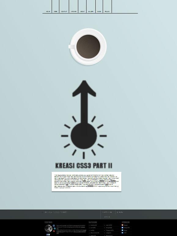 Kreasi Css3 Part II