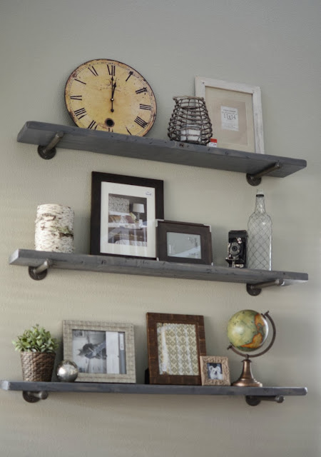 How to Make Restoration Hardware Shelves DIY