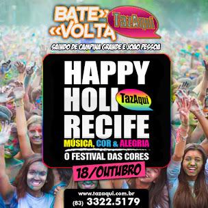 Excursão HAPPY HOLI RECIFE
