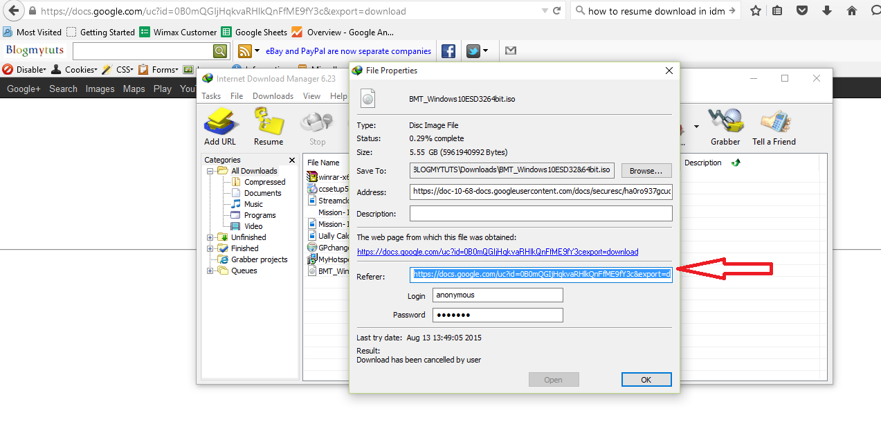 How to Resume Internet Download Manager Expired and Broken ...