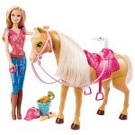Boneca Barbie Family com Cavalo e Acessórios Mattel