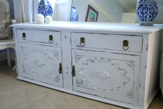 white painted tv cabinet sydney Lilyfield life furniture shabby chic
