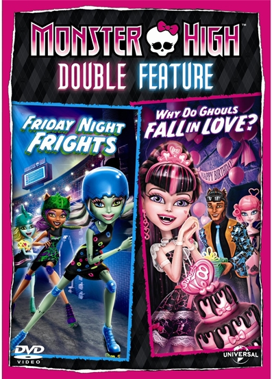 Monster High Double Feature DVDR NTSC Español Latino