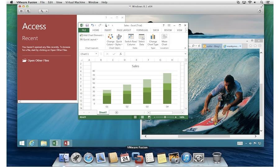 VMware Fusion Pro 6 Screenshot