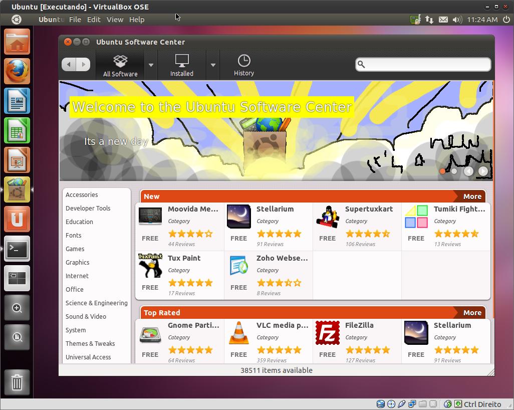 Top 10 apps Ubuntu - Central de programas -  Mês de MAIO