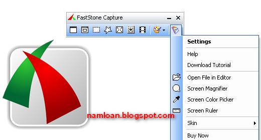 Mã key FastStone Capture chụp hình, quay phim màn hình máy tính