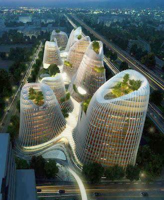 Ciudad de Shan-Shui (China)