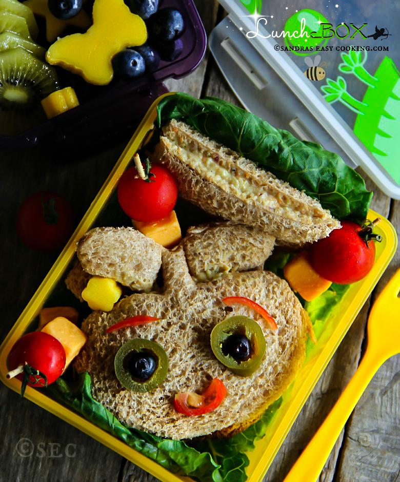 Lunch Box: Chicken Salad Sandwich #bento #lunch #SchoolLunch