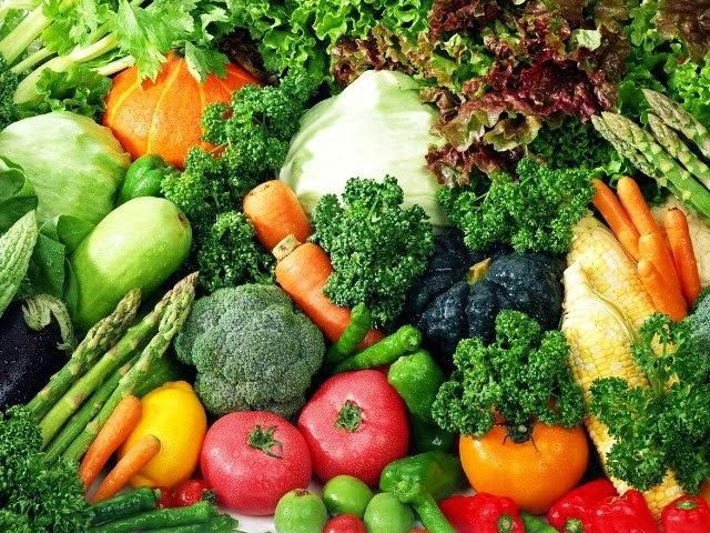Verduras e hortaliças frescas