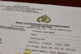 Tata Cara Membuat SKCK - Surat Keterangan Catatan Kepolisian