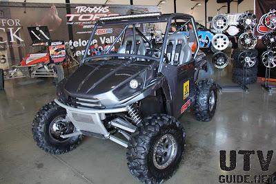 Kawasaki Teryx with Roctane XD radial tire