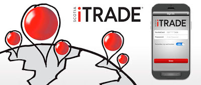 Scotia iTRADE mobile app