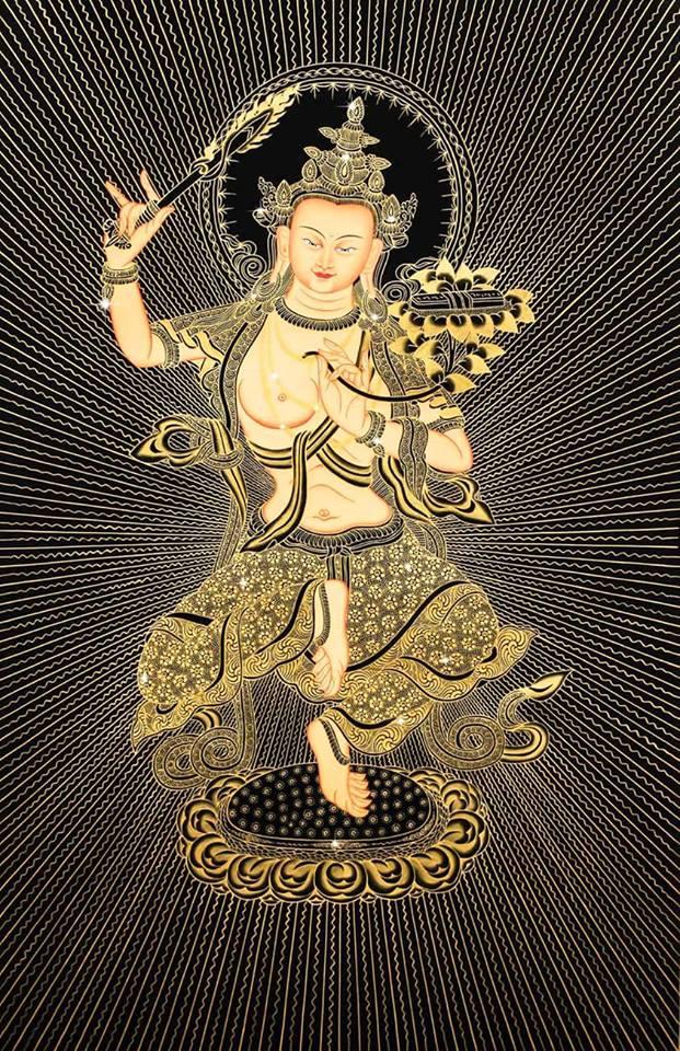 Manjushri.
