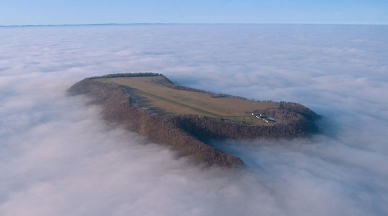 Imagen del día: Tierra a la vista, prepárese para el aterrizaje