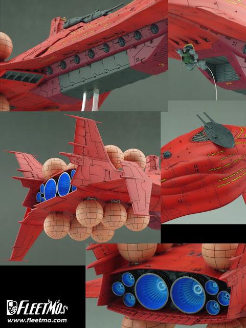 Zeon Fleet Universal Century 0079 Scratch Build Series