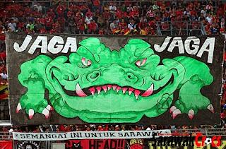 tifo Sarawak Fan