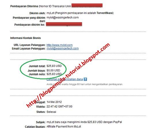 mylot, tips mylot, payment proof, bukti pembayaran mylot
