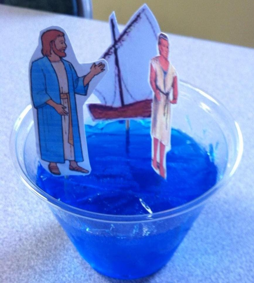 Bible Fun For Kids Jesus Walks on Water