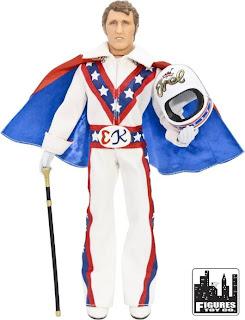 "Figures Toy Company 8"" Retro Style Evel Knievel Figure"