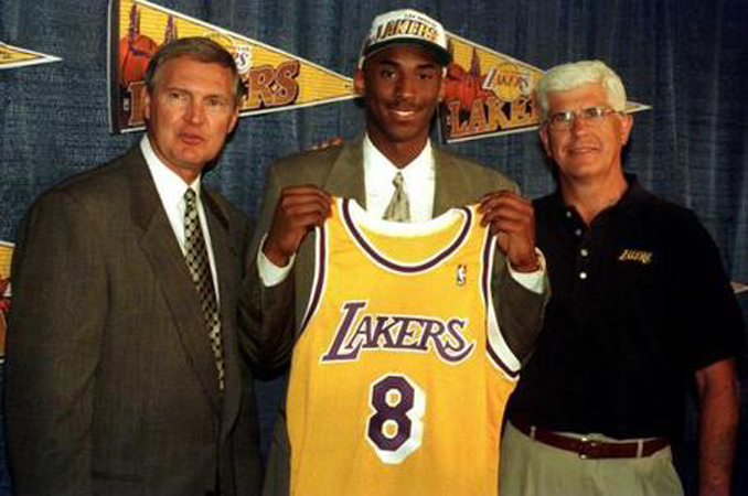 Kobe Bryant #8 Traded to Lakers - Hoopsvilla.com