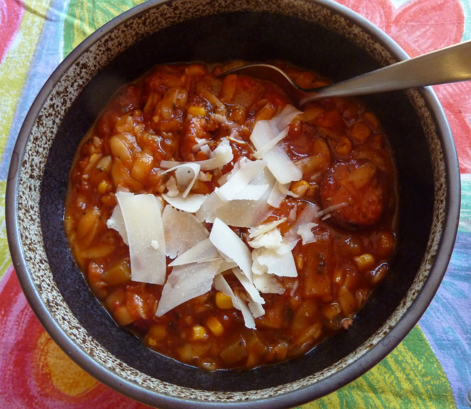 second helpings: Marilyn\'s Pasta E Fagioli Soup