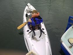 My Son Kayaking