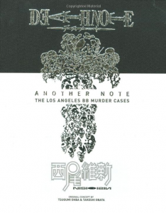 [Novel] Death Note Another Note : The Los Angeles Murder BB Case ENGLISH