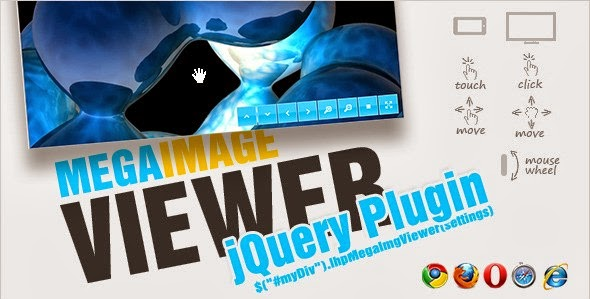 jQuery Mega Image Viewer – animated zoom and pan