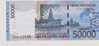 Pecahan 50.000 Rupiah tahun 2005