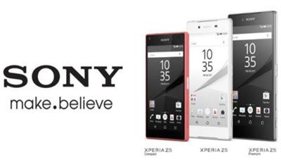 ponsel sony premium