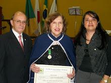 Posse na Academia de Letras, Artes e Ciências Brasil - ALACIB