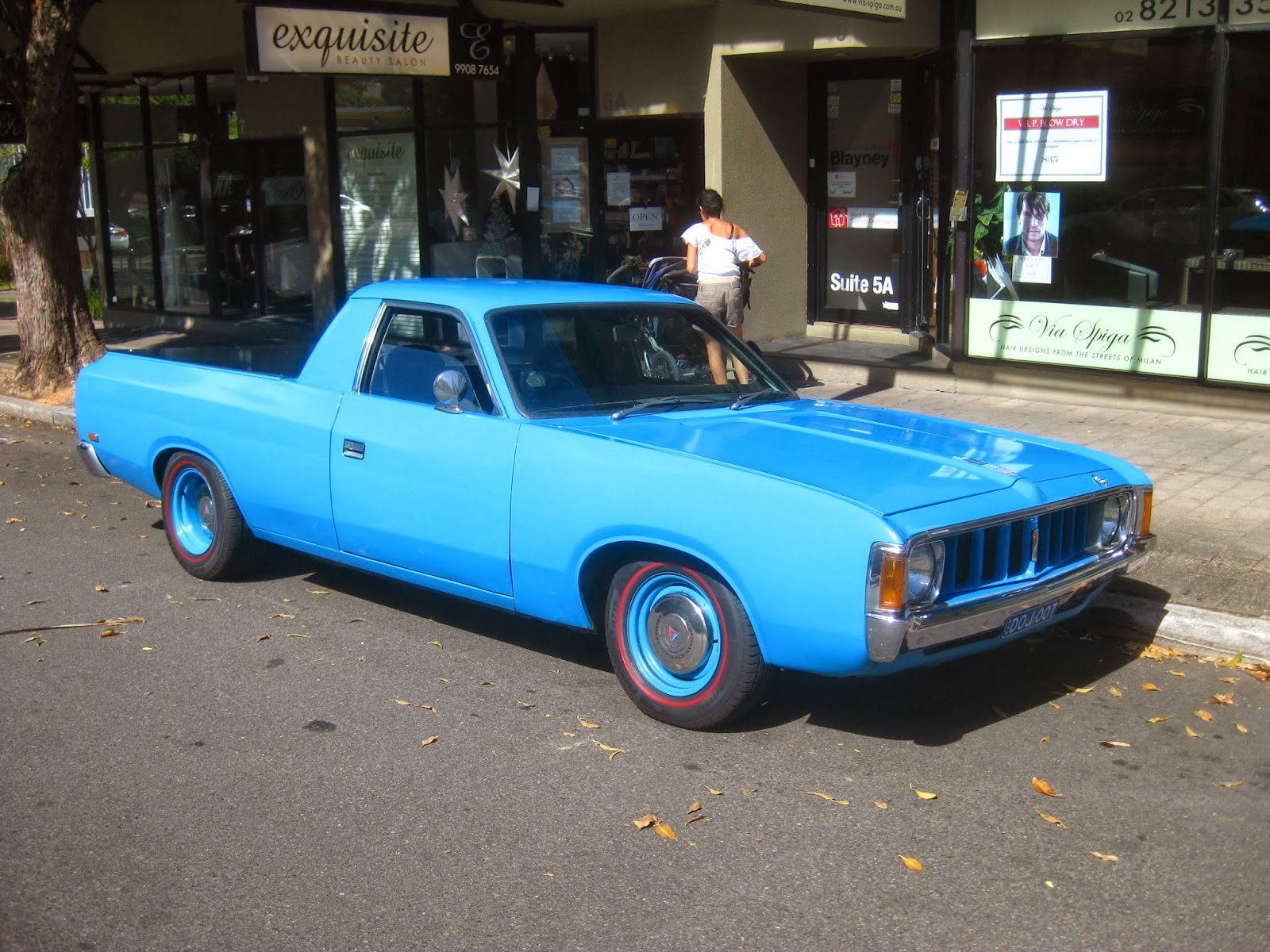 Aussie Old Parked Cars 1974 Chrysler Vj Dodge Ute
