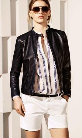 Massimo Dutti mujer verano 2014 chaqueta piel