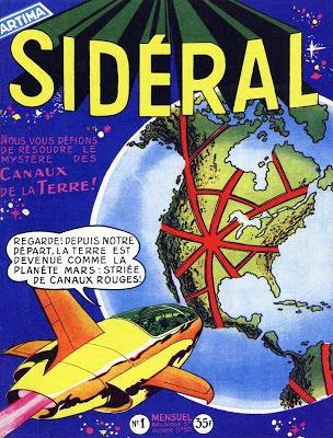 Sidéral (1re série) 01 - 51 Ed. Artima (Série terminée)