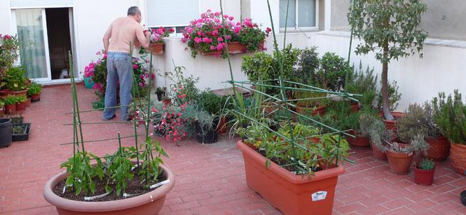 Decoritzion terraza prepararla para el verano - Huertos urbanos ikea ...