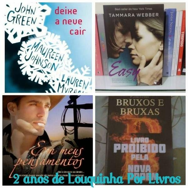 Promoção: 2 anos do Louquinha Por Livros #4!
