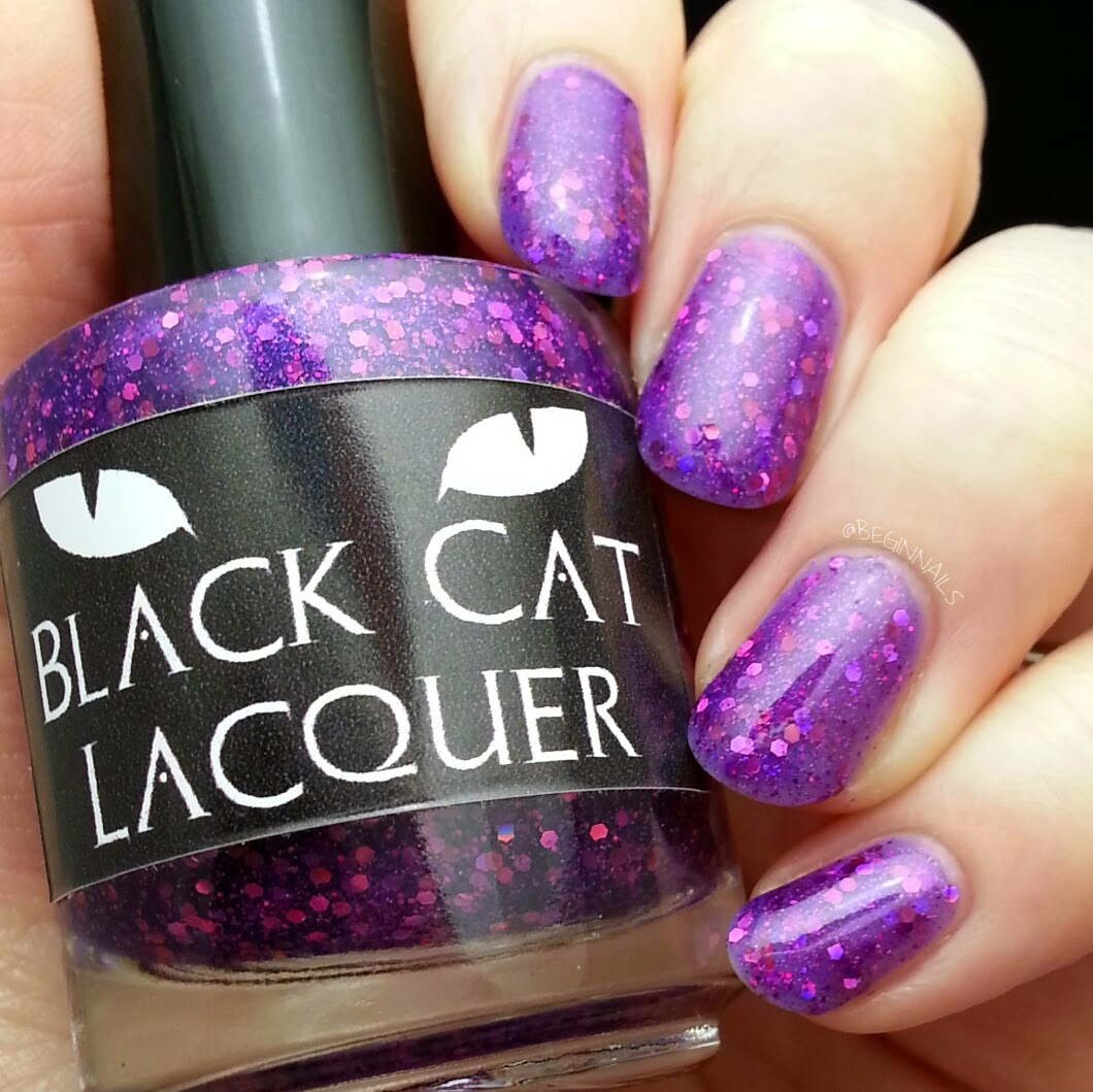 Let\'s Begin Nails: February 2015 A Box, Indied Swatch and Review
