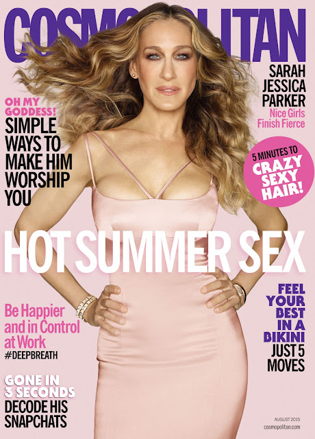 Actress @ Sarah Jessica Parker for Cosmopolitan US, August 2015