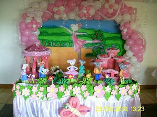 Children Parties, Angelina Ballerina Decoration 1